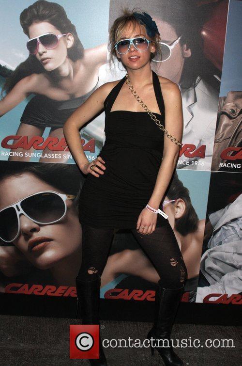Caitlin Moe Launch of Carrera Vintage Sunglasses at...