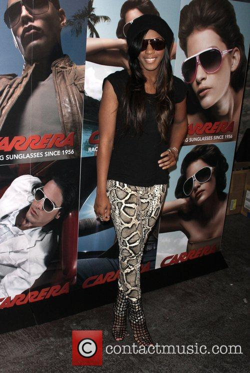 Dawn Richard Launch of Carrera Vintage Sunglasses at...