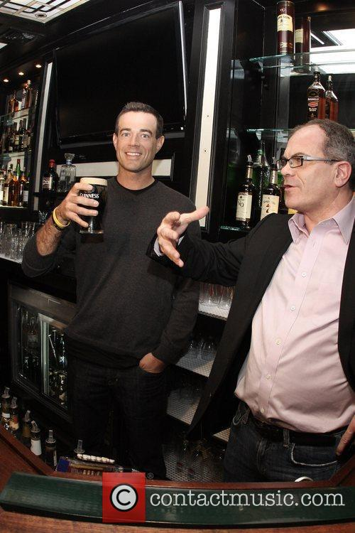TV host Carson Daly and Master Brewer for...