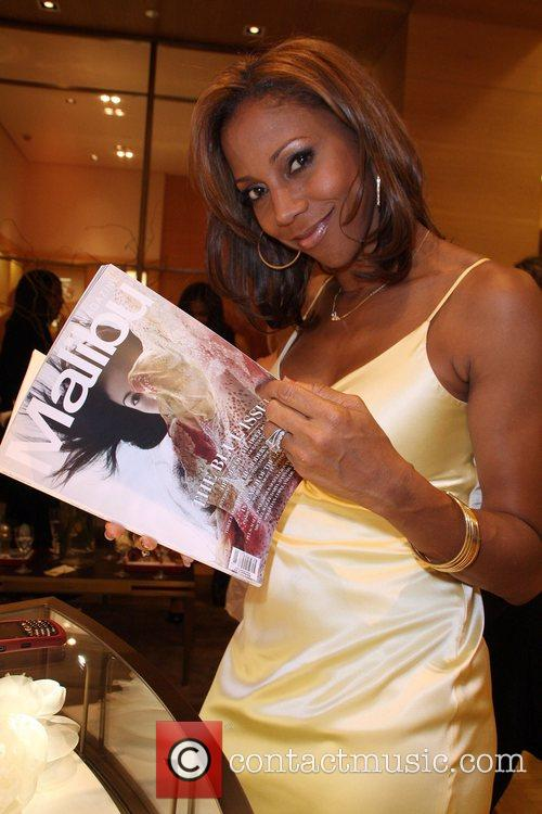 Holly Robinson-Pete Cartier and Malibu Magazine Cocktail Event...