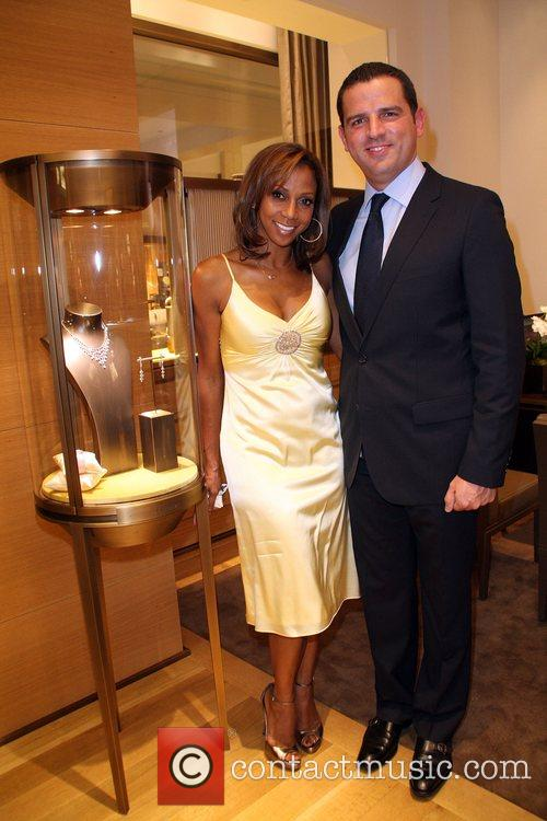 Holly Robinson-Pete and Guest Cartier and Malibu Magazine...