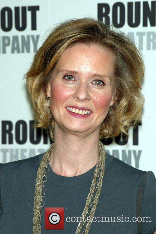 Cynthia Nixon Photo Call for the upcoming Roundabout...
