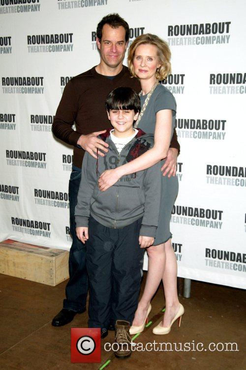 Photo Call for the upcoming Roundabout Theatre Production...