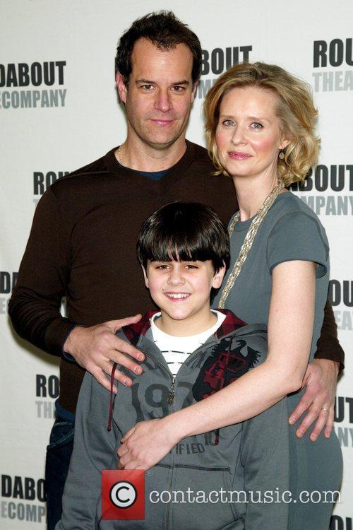 Josh Stamberg, Cynthia Nixon and Matthew Gumley Photo...