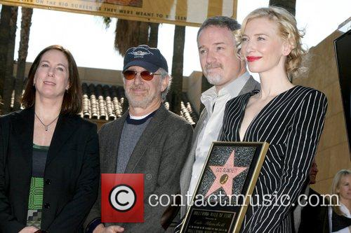 Kathleen Kennedy, David Fincher and Steven Spielberg 1