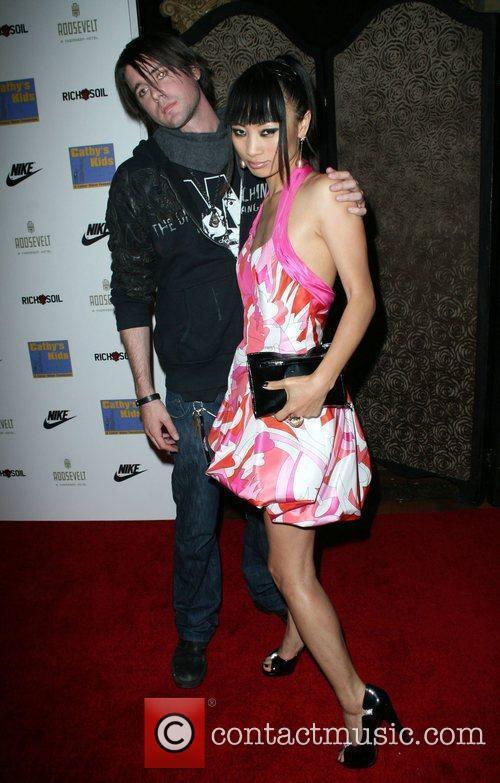 Bai Ling and guest The 5th Anniversary Of...