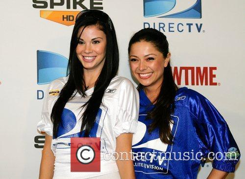 Jayde Nicole and Pilar Lastra The DirectTV 3rd...