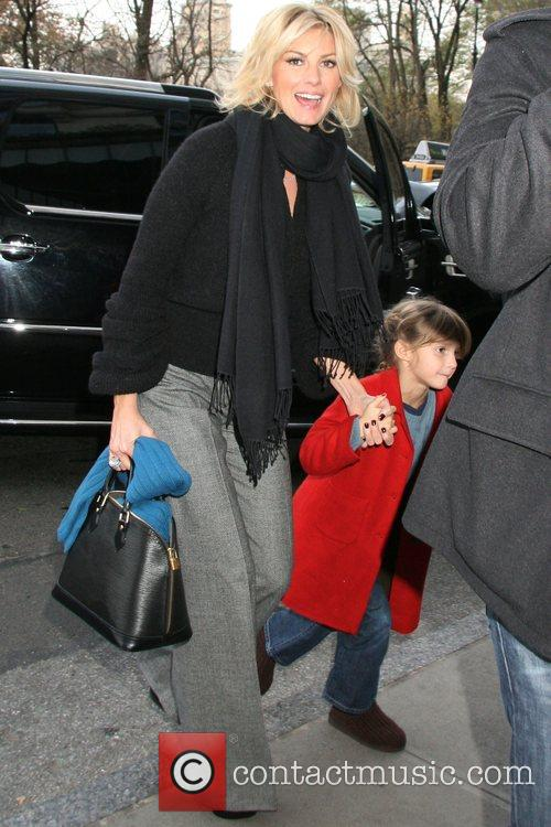 Faith Hill and her daughter arrive at their...