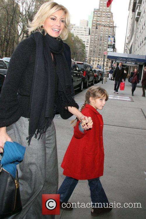 Arrive at their Manhattan hotel