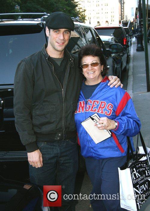 'CSI: NY' star Eddie Cahill outside his Manhattan...