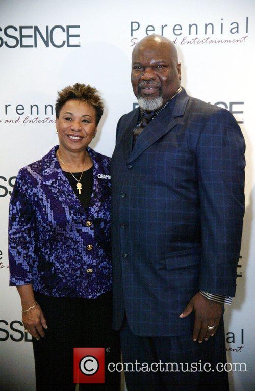 Congresswoman Barbara Lee with Pastor TD Jakes Essence...
