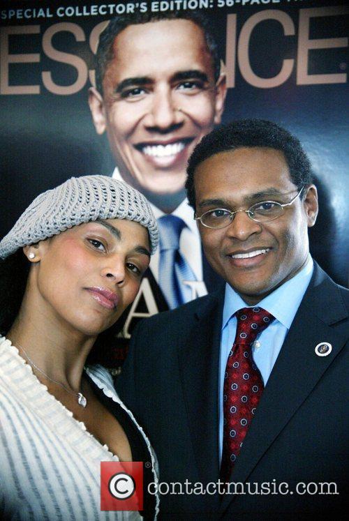 Regina Renee Johnson and Barack Obama 3