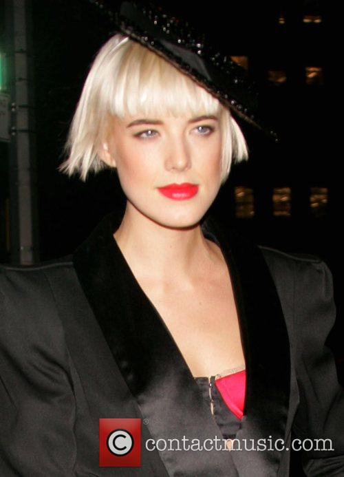 Agness Deyn The Vogue Party at Skylight Studio....