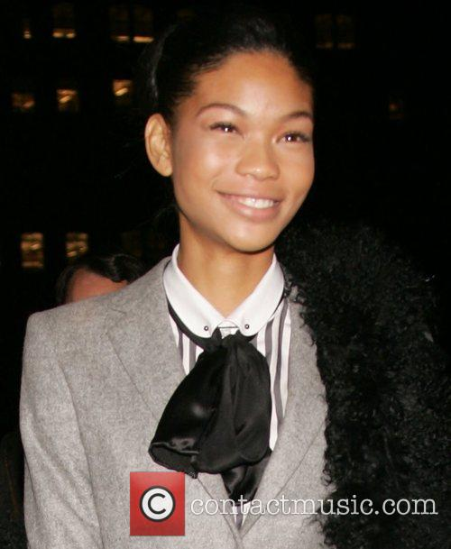 Chanel Iman  The Vogue Party at Skylight...