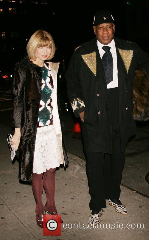 Anna Wintour and Andre Leon Tally The Vogue...