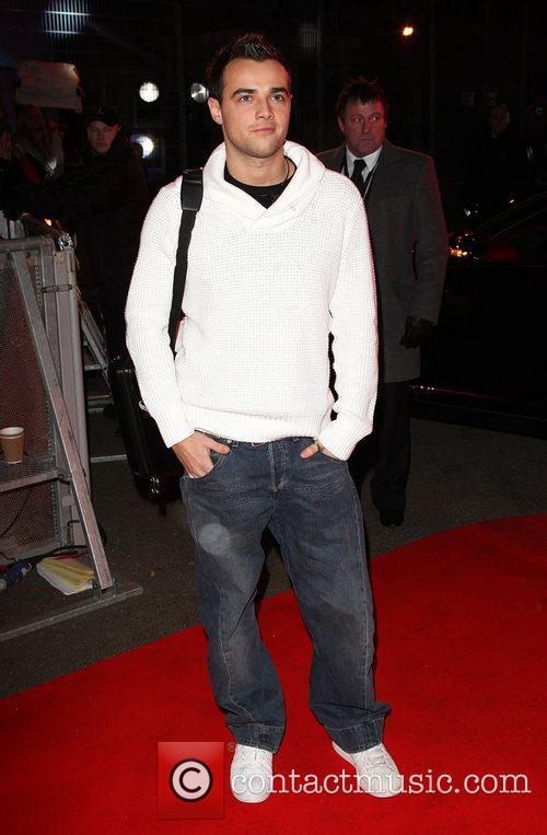 Ben Adams Celebrity Big Brother 2009 opening night...
