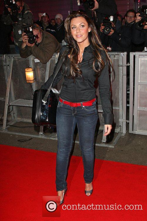 Michelle Heaton Celebrity Big Brother 2009 opening night...