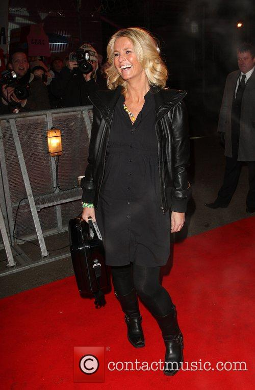 Ulrika Jonsson Celebrity Big Brother 2009 opening night...