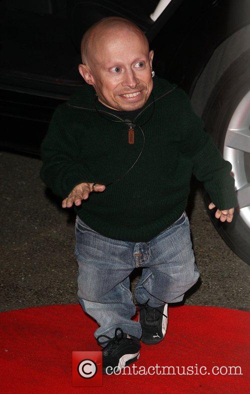 Verne Troyer Celebrity Big Brother 2009 opening night...