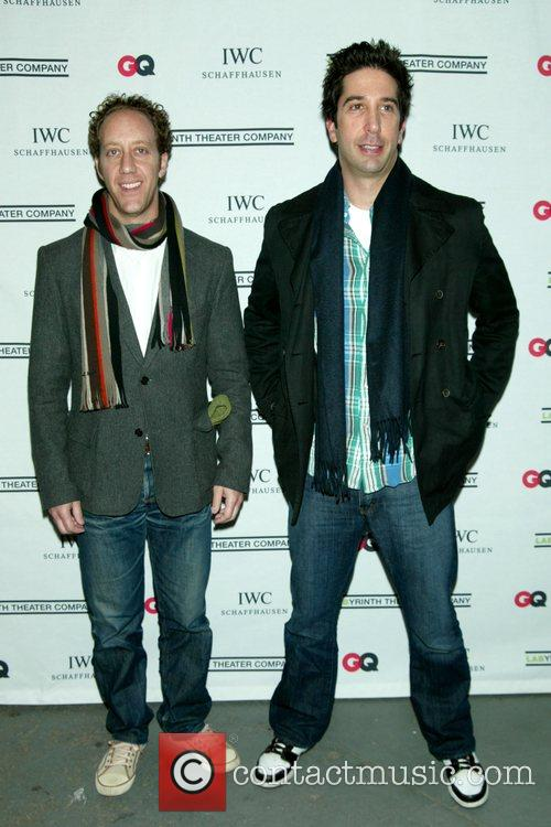 Joey Slotnick and David Schwimmer 3