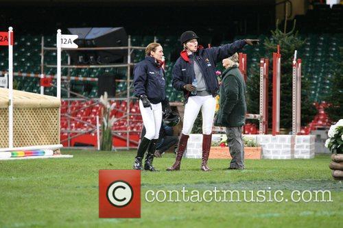Jodie Kidd and Tara Palmer-Tomkinson Express eventing international...