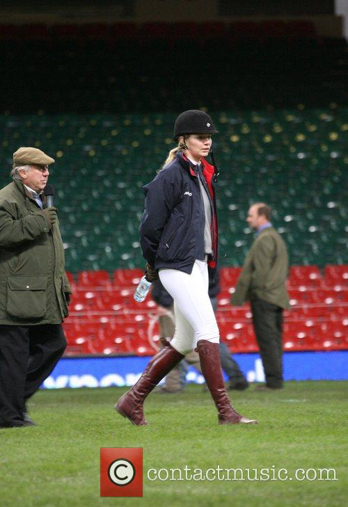 Jodie Kidd Express eventing international cup held at...