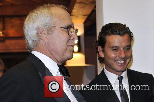 Chevy Chase and Gavin Rossdale