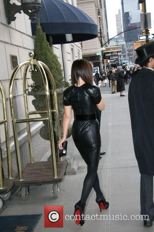 Kate Beckinsale leaves her hotel New York City,...