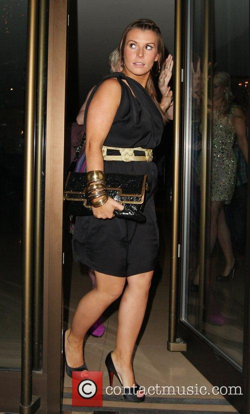 Coleen Rooney Leaving The Mayfair Hotel 4