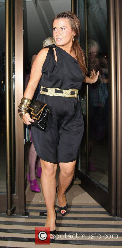 Coleen Rooney Leaving The Mayfair Hotel 2