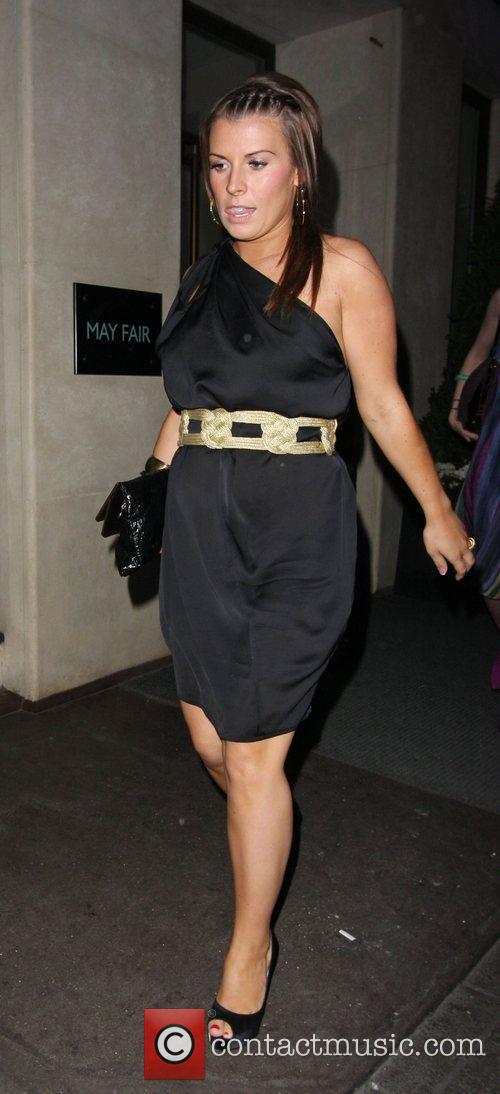 Coleen Rooney Leaving The Mayfair Hotel 3