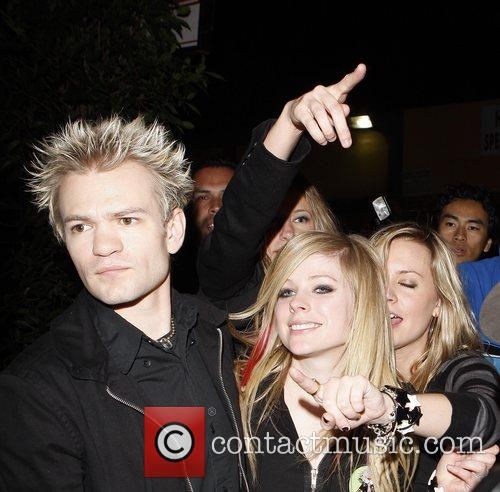 Avril Lavigne and Husband Deryck Whibley 4