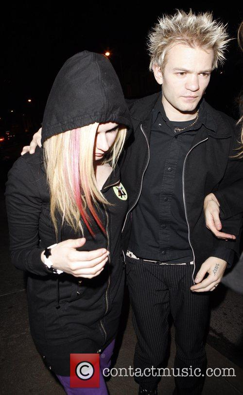 Avril Lavigne and Husband Deryck Whibley 2