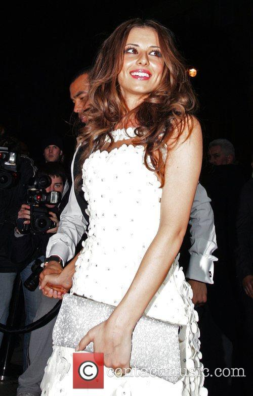 Cheryl Cole of Girls Aloud Brit Awards 2009...