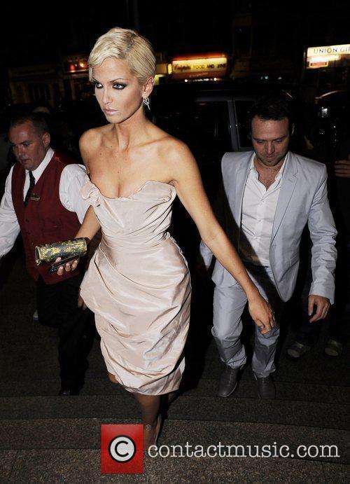 Sarah Harding and Tom Crane Brit Awards 2009...