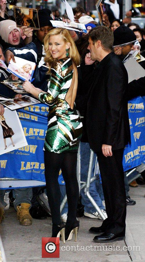 Kate Hudson and David Letterman 3