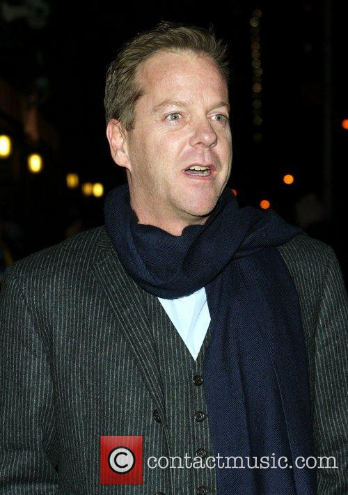 Kiefer Sutherland and David Letterman 2