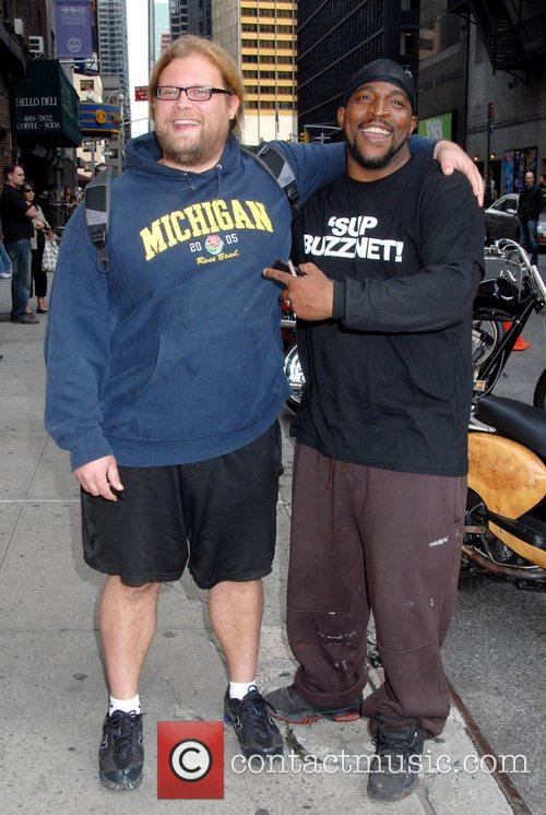 Mikey Teutul and David Letterman 1