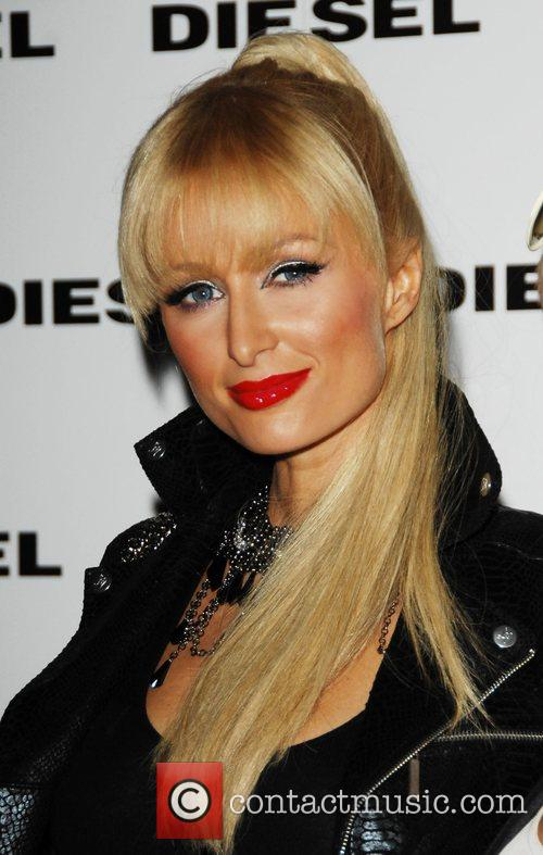 Paris Hilton The Diesel Party held at the...