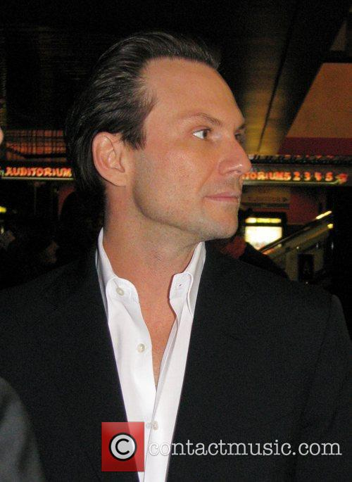 Christian Slater in the hotel Lobby of the...