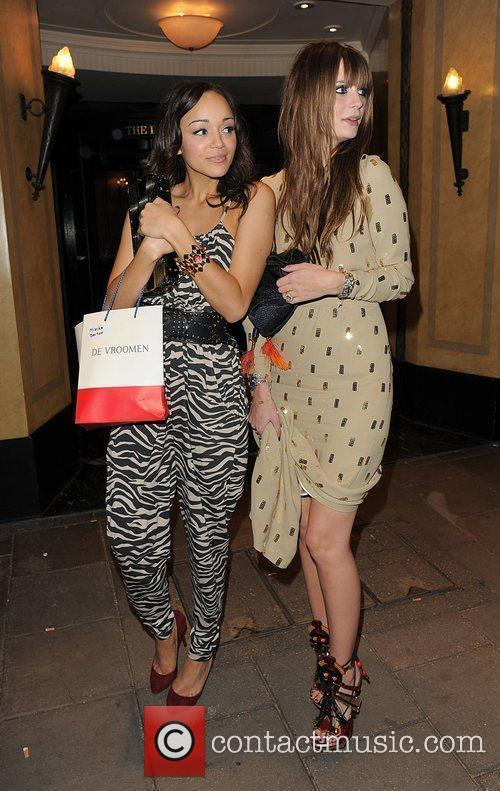 Mischa Barton, Female Friend Leaving The Dorchester Hotel and Having Attended A Party 3