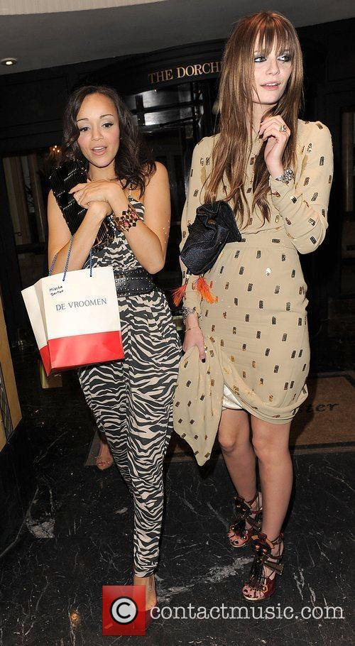 Mischa Barton, Female Friend Leaving The Dorchester Hotel and Having Attended A Party 7