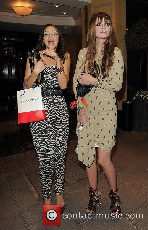 Mischa Barton, Female Friend Leaving The Dorchester Hotel and Having Attended A Party 10