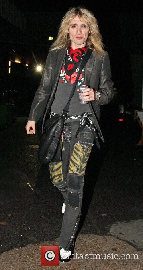 Leaving the X Factor Show.