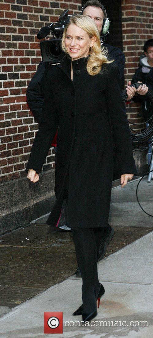 Naomi Watts and David Letterman 12