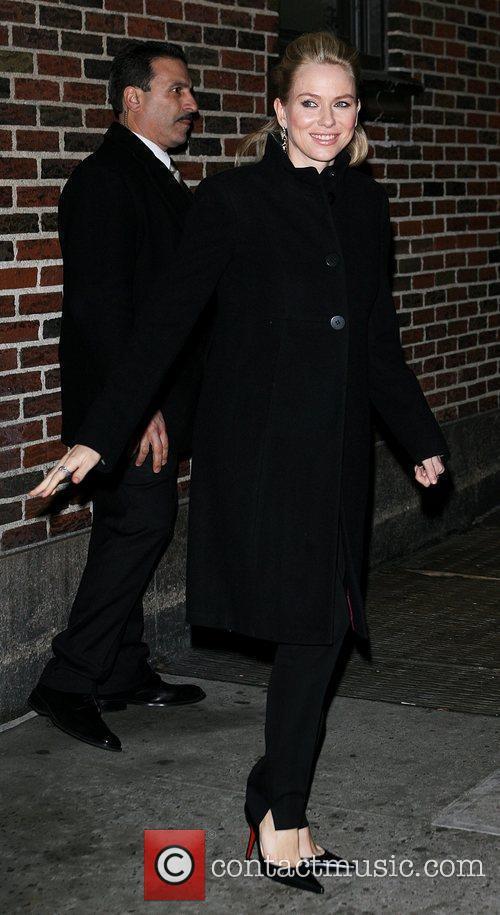Naomi Watts and David Letterman 19