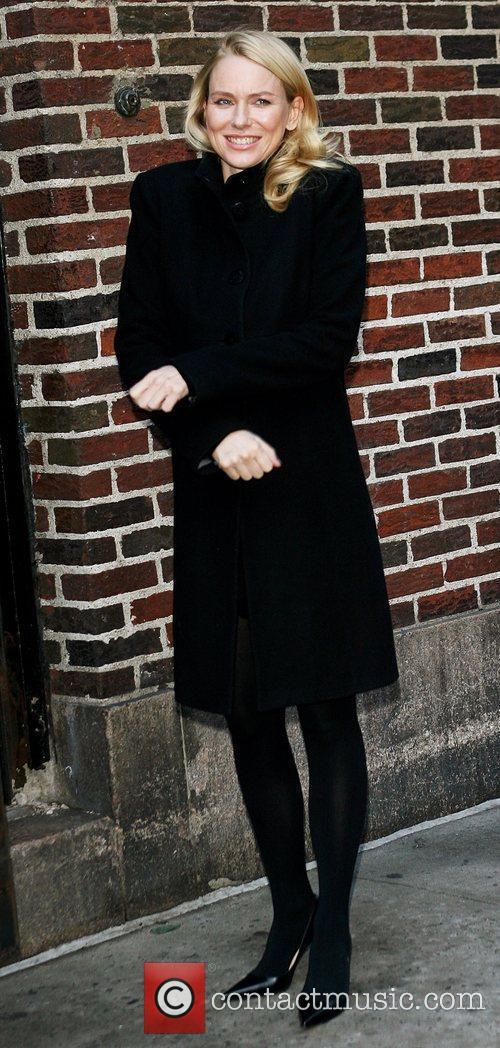 Naomi Watts and David Letterman 18