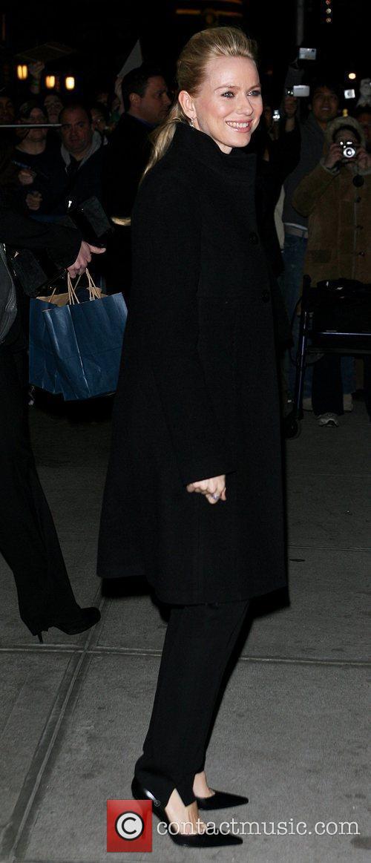 Naomi Watts and David Letterman 16