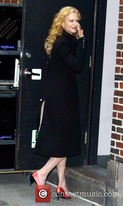 Nicole Kidman and David Letterman 4