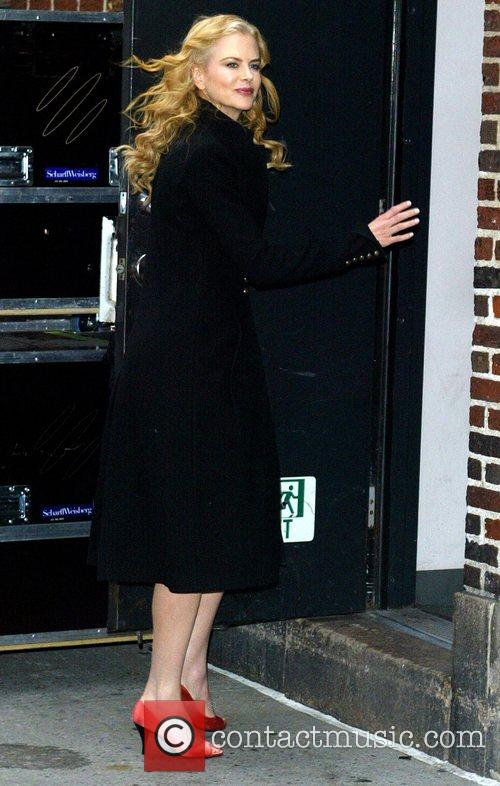 Nicole Kidman, David Letterman, The Late Show With David Letterman